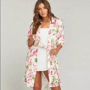 Show Me Your Mumu Floral Garden of Blooms Robe OS